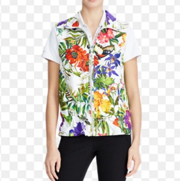 Polo by Ralph Lauren Jackets & Blazers - 🏌️♂️⛳NWT Polo Golf Hawaiian Print Vest ⛳🏌️♂️